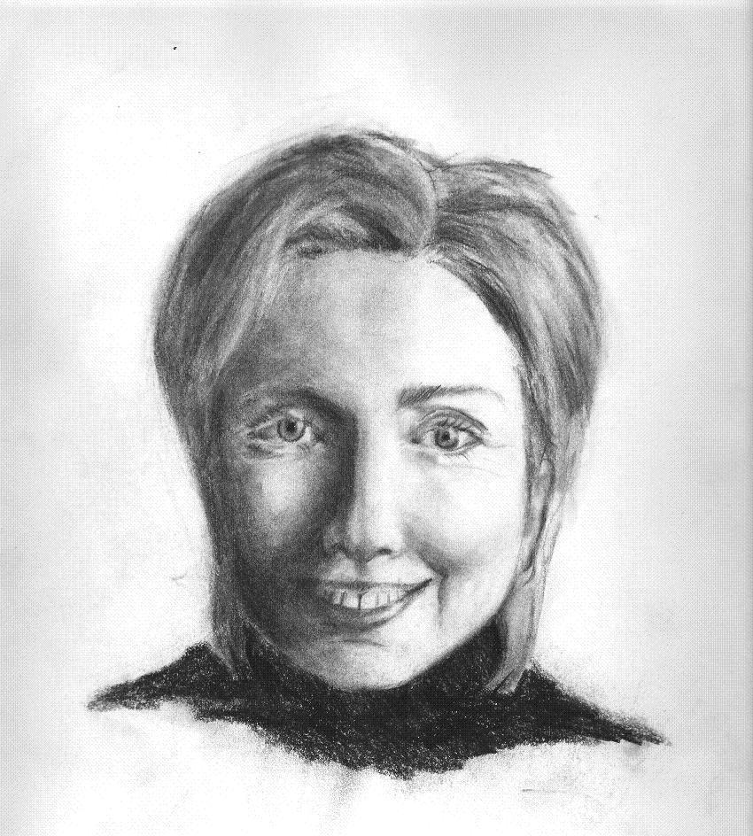 Hilary Clinton by bundlesOjoy
