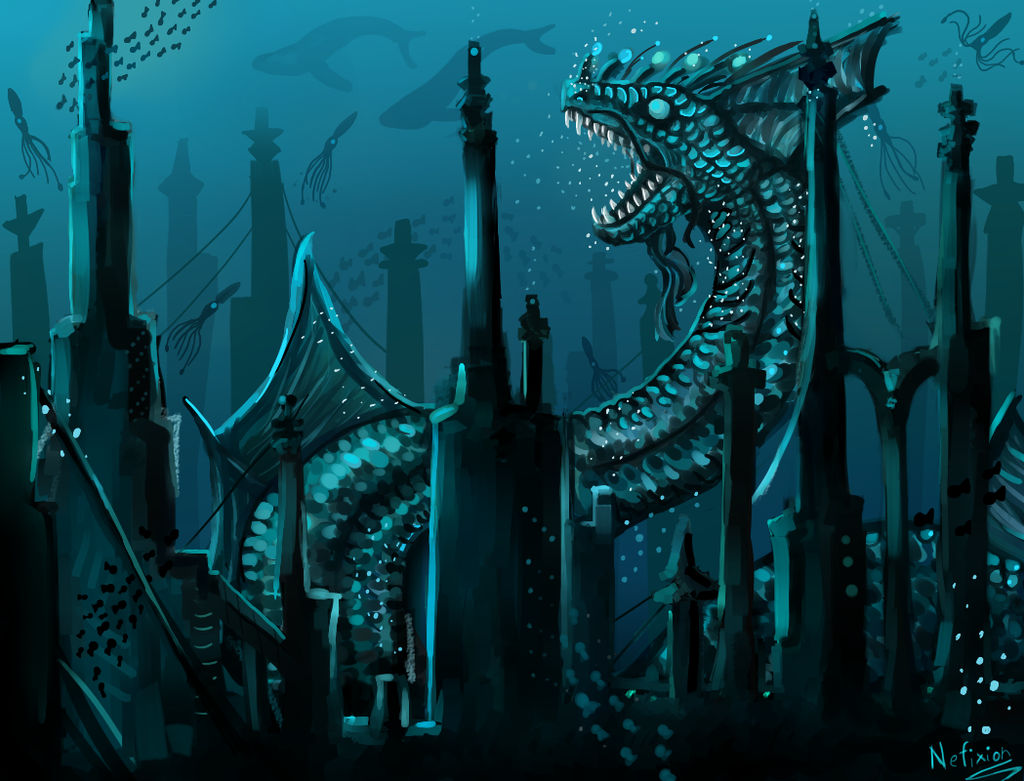 Underwater Serpent