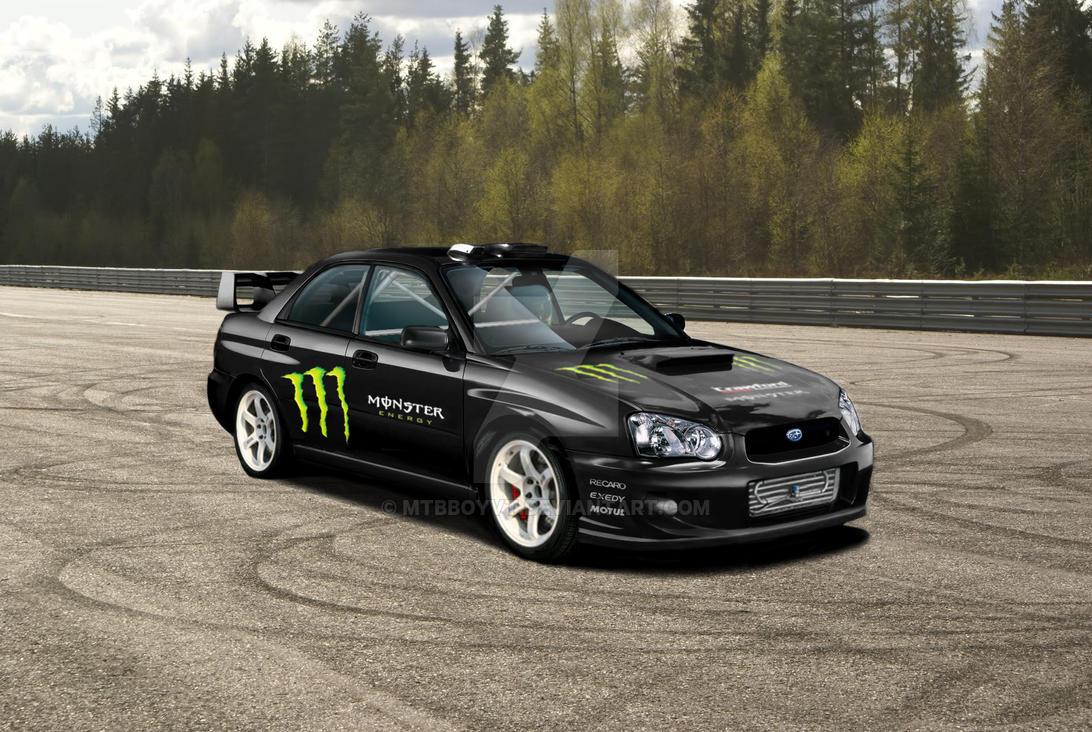 Subaru Impreza Monster Energy Rally Cross Wip By Mtbboyvt ...