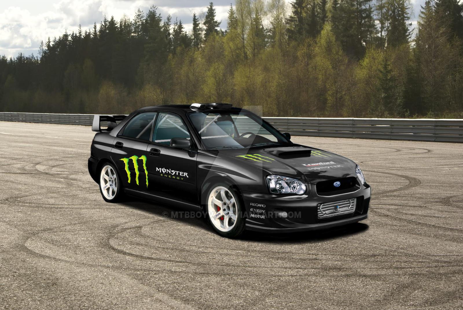 ... Subaru Impreza Monster Energy Rally Cross Wip By Mtbboyvt