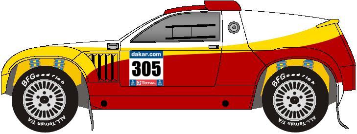 Volkswagen Touareg dakar by mtbboyvt