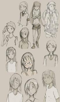 Rough Sketch Compilation