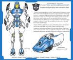Transformers Movie Style Glyph OC by Tazirai