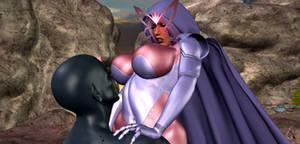 Psylocke Peril - Resistant by Tazirai