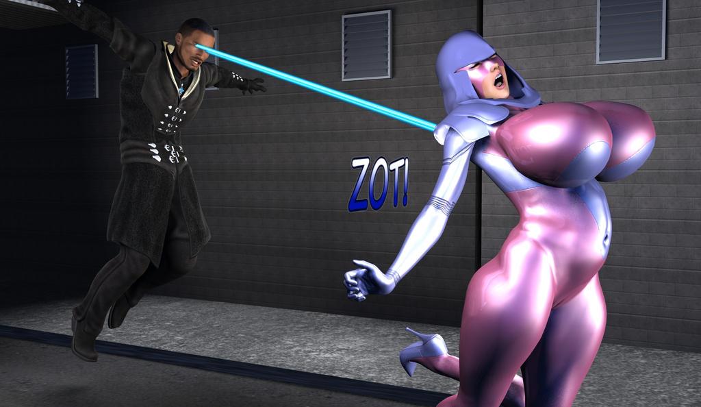Psylocke Psunday- Zapped by Tazirai