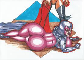 Psylocke peril 12 - Brand by Tazirai