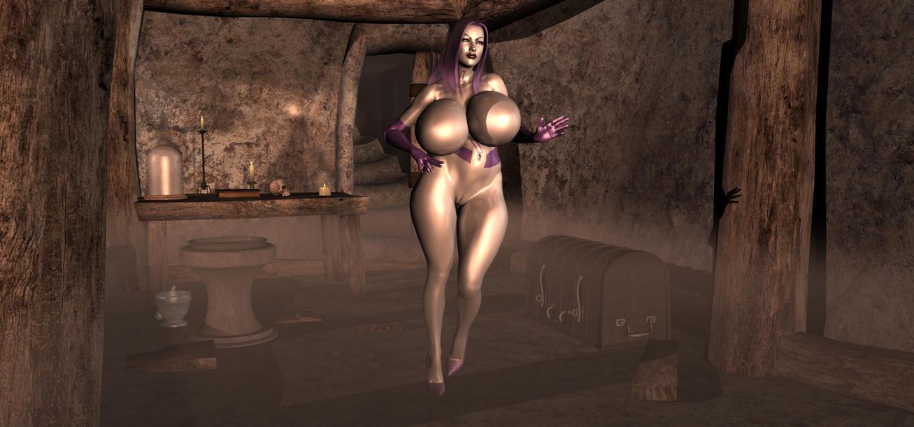 Out of the Fog Peril series Metal Psylocke A by Tazirai