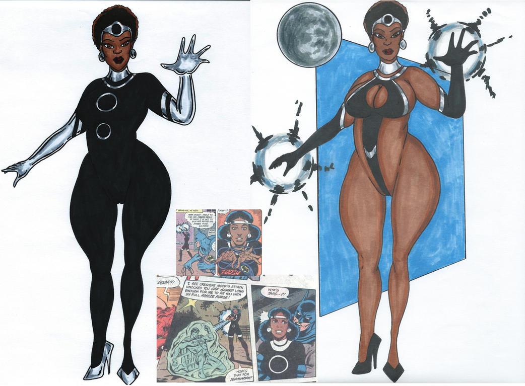 New Moon aka Moon Woman by Tazirai