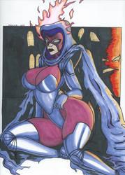 Psylocke Inferno series Pic 3 by Tazirai