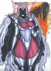 Psylocke Inferno series Pic 4 Twisted by Tazirai