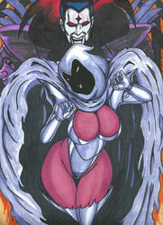 Psylocke Inferno series Pic 6 Vs Sinister by Tazirai