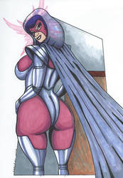 Psylocke Inferno series back to the Outback by Tazirai