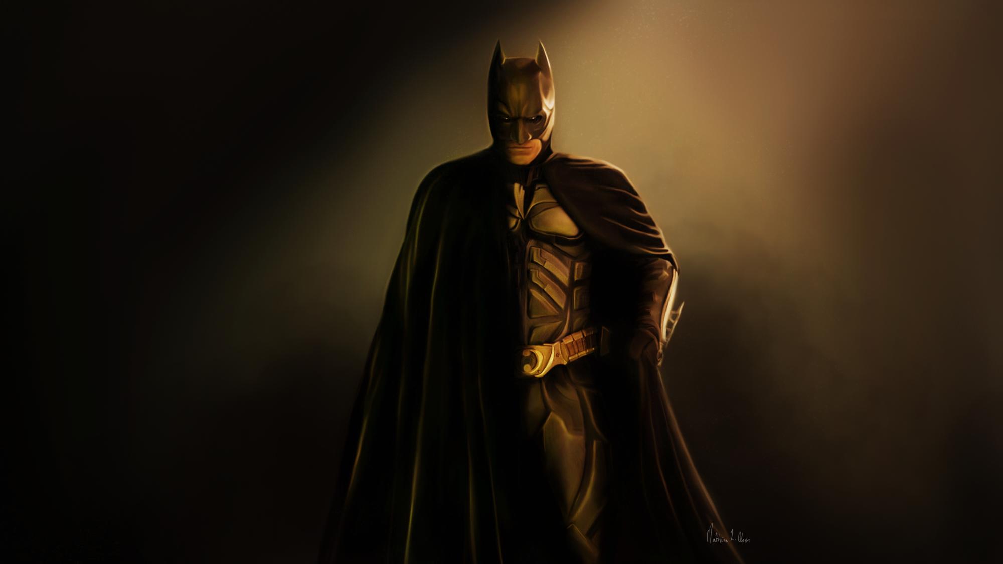 Batman - Painting by Lasse17