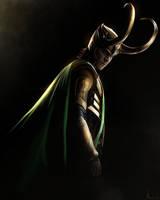Loki - Painting by Lasse17