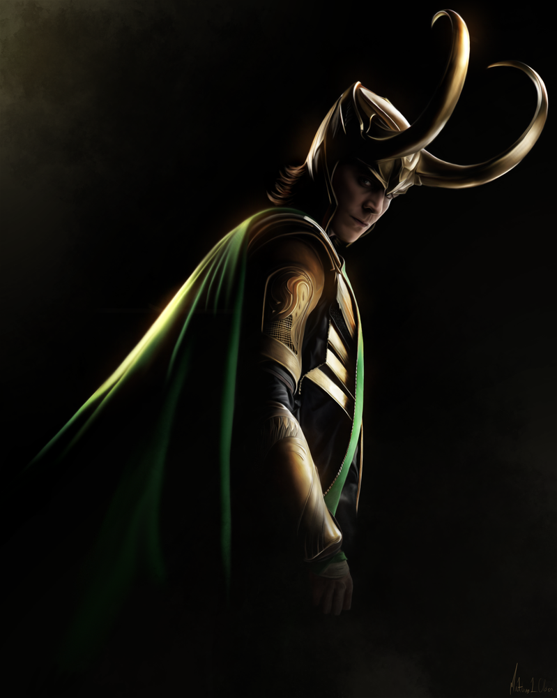 Loki - Painting by ~Lasse17