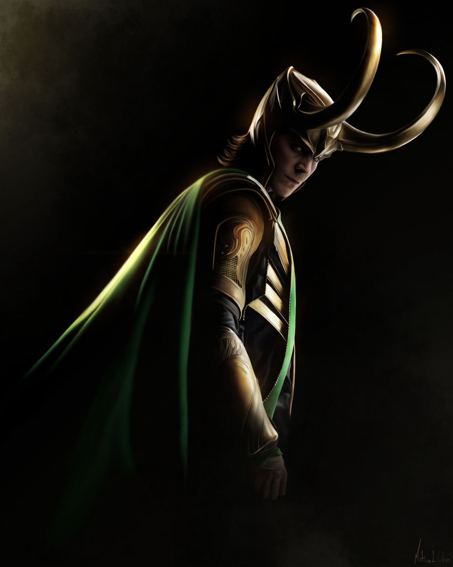 Loki - Painting