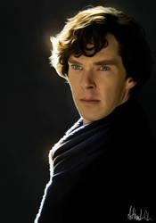 Sherlock - Painting by Lasse17