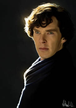 Sherlock - Painting
