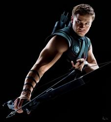 Hawkeye - Painting by Lasse17