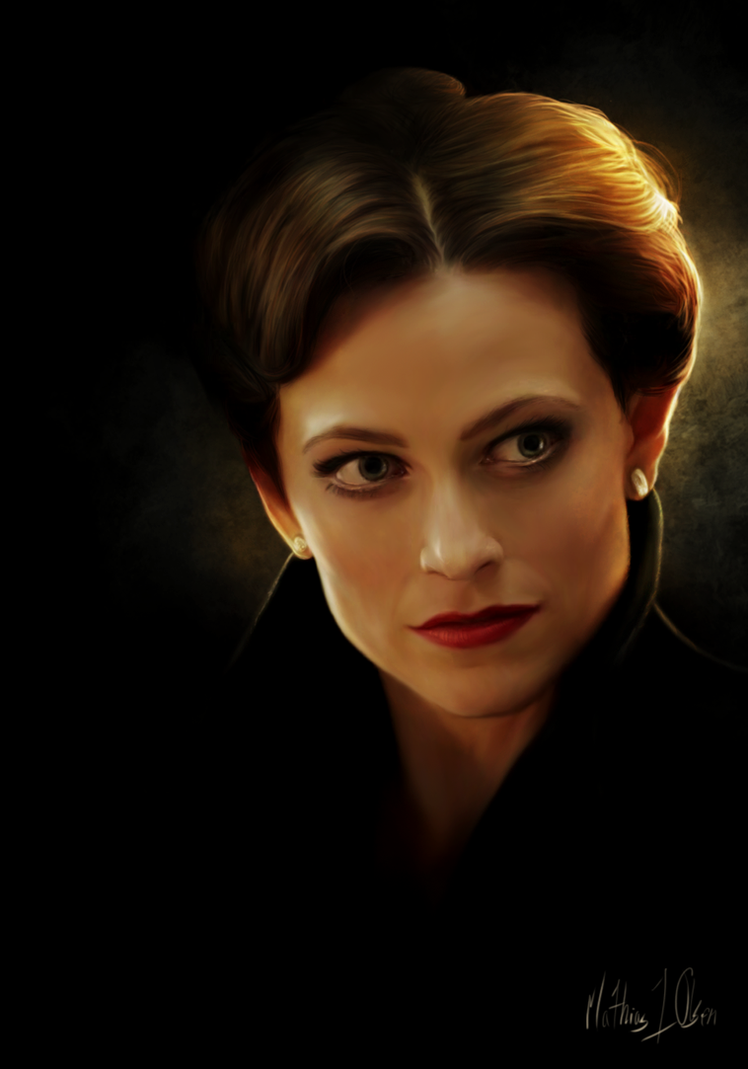 Irene Adler - painting by Lasse17
