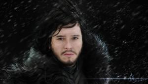Jon Snow- Painting