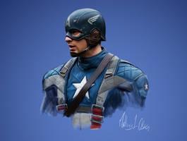 Captain America - Digi-painting