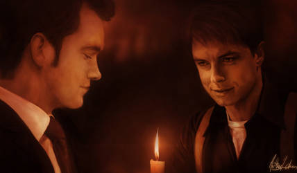 Jack And  Ianto by Lasse17