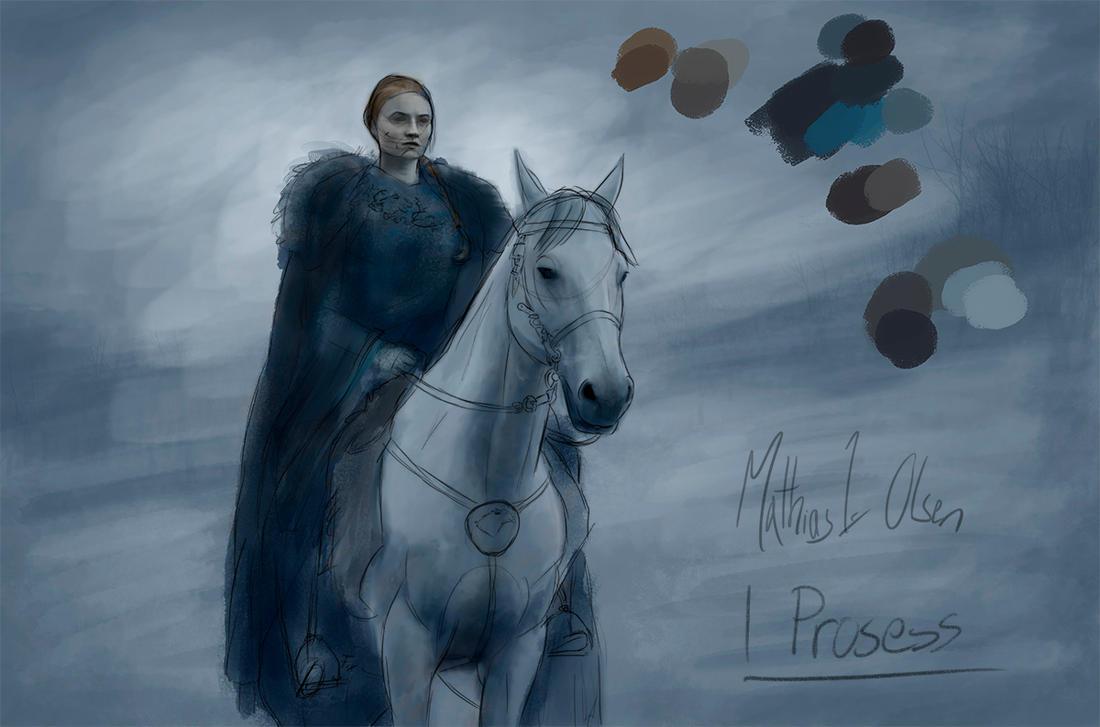 Sansa - WIP by Lasse17
