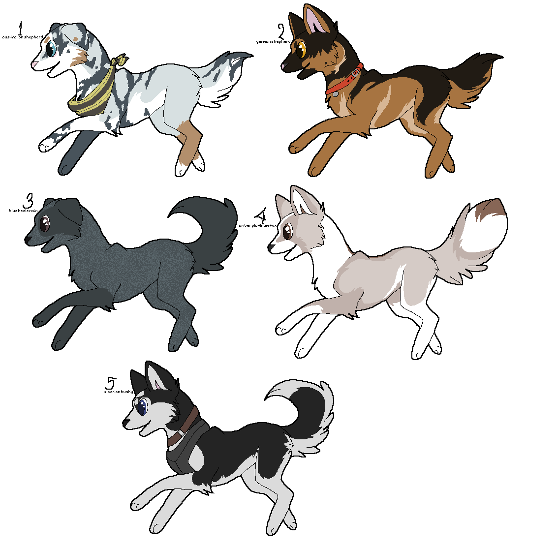 Point Adoptables 005 by WolfPawdoptables