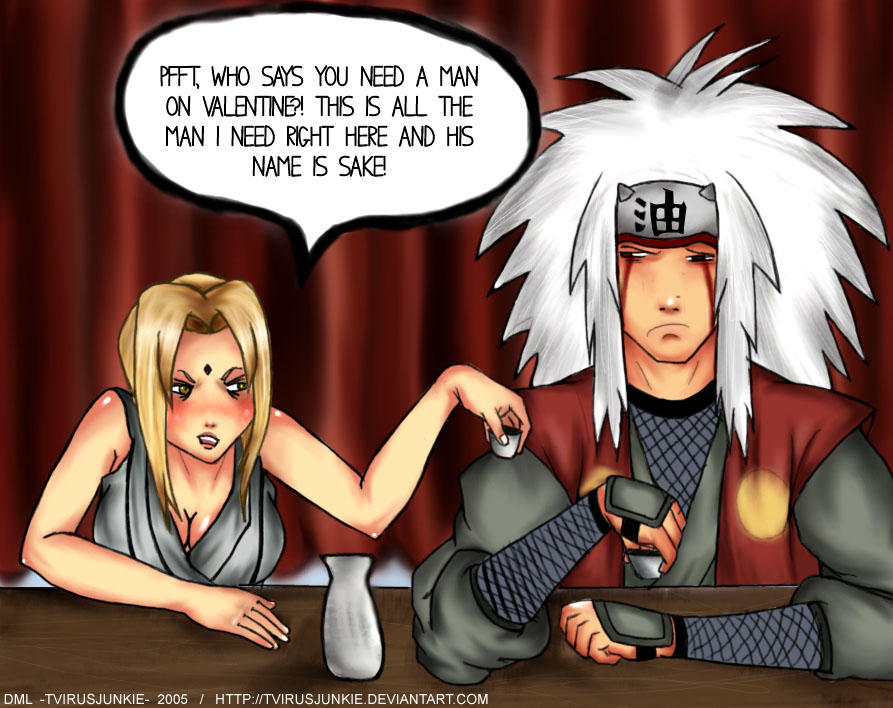 Tsunade Doesn't Need a Man by TVirusJunkie