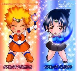 Naruto Sailor Moon Crack by TVirusJunkie