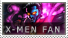 X-Men Fan Stamp by BackAlleyScrapper