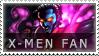 X-Men Fan Stamp by BackAlleyScrapper