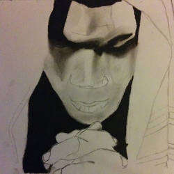 Mike Tyson Charcoal