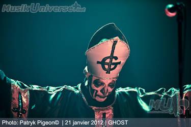 Ghost - Papa Emeritus by MrSyn
