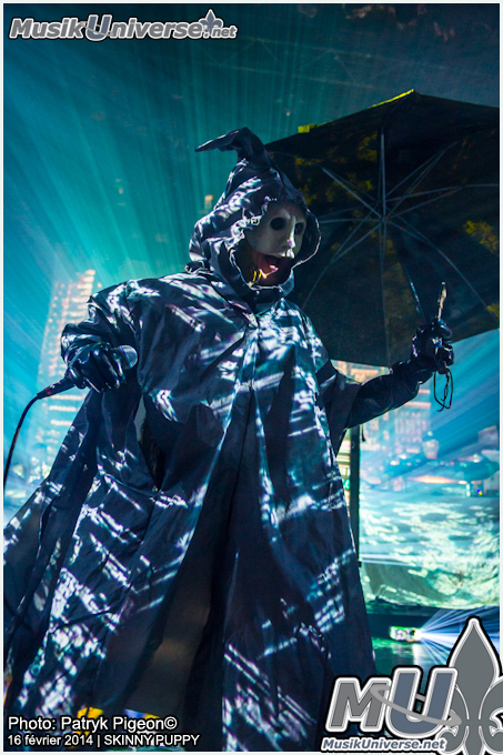 Skinny Puppy - live 2014 by MrSyn