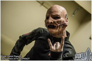 Corey Taylor of Slipknot in Toronto 2014