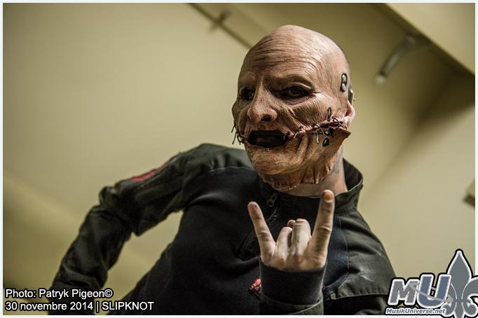 Corey Taylor of Slipknot in Toronto 2014 by MrSyn