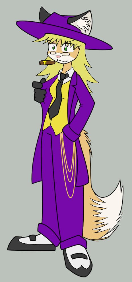 Zoot Suit Maxcine Colored by origamidude
