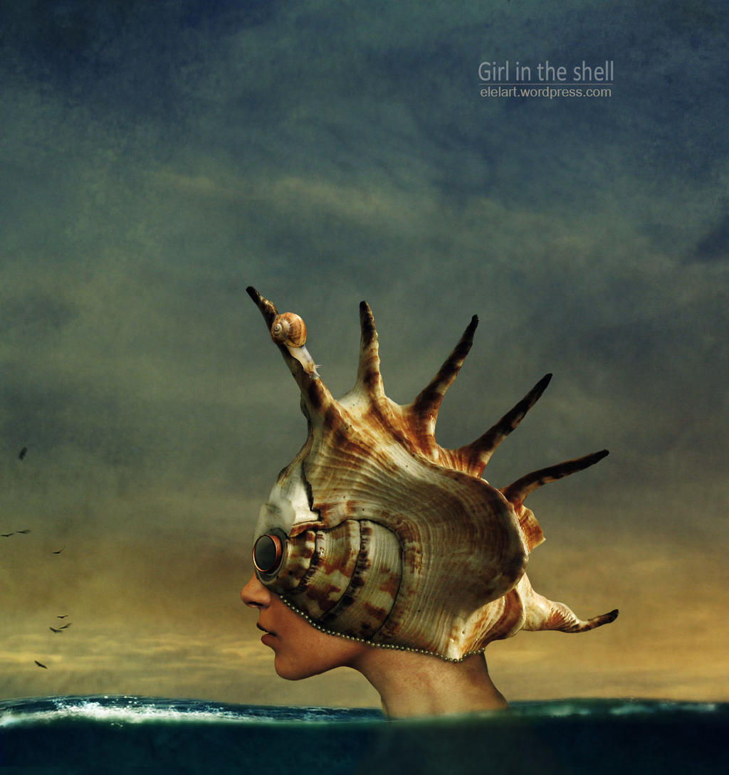 Girl-in-the-shell By-alepainkiller by Mr-Bastos