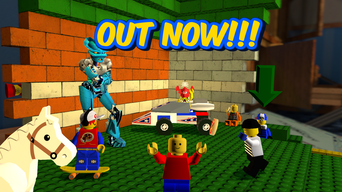 out now classic lego game models for gmod and sfm by segatendo12 on