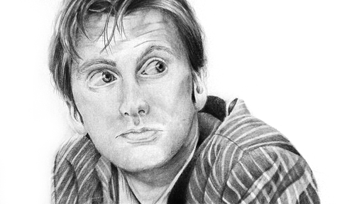 The Tenth Doctor by redgrassofgallifrey