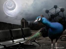 The Peacock by gloriagypsy