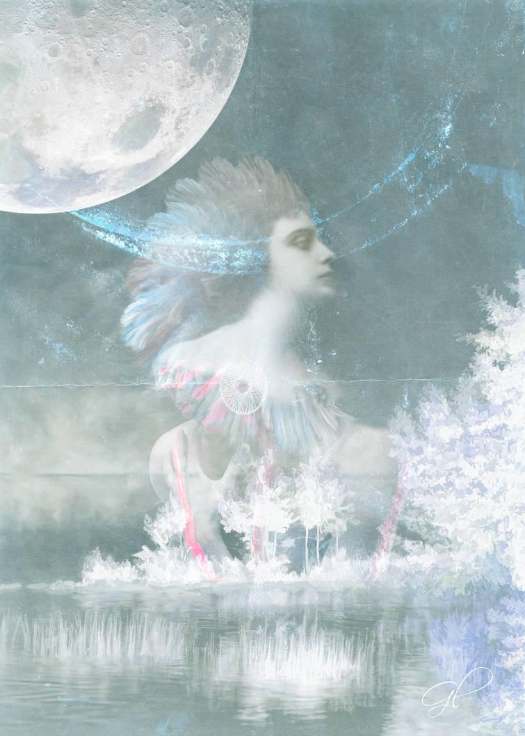 Under A Wild Moon by gloriagypsy