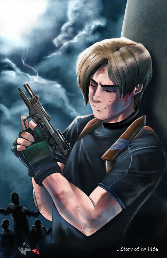 Resident Evil 4 Leon Story Of My Life By Radiant Grey On Deviantart