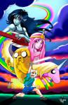 Adventure Time (full print)