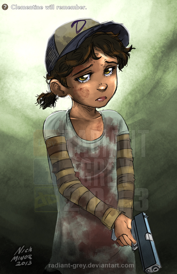 Clementine Will Remember By Radiant Grey On Deviantart
