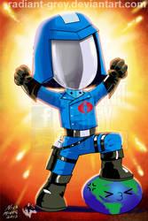 Cobra Commander VS The World by Radiant-Grey