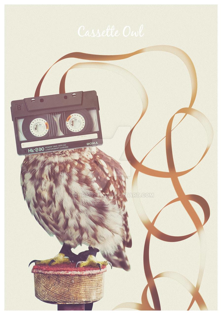 Cassette owl real
