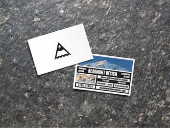 Beaumont Design Business Card by chris3290